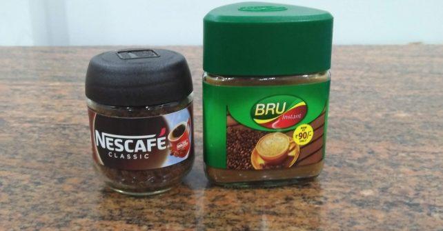 インドでインスタントコーヒー