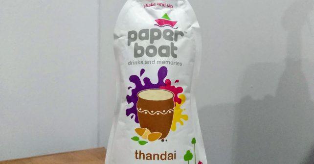 インドでジュース~飲んでびっくりthandaiとは~